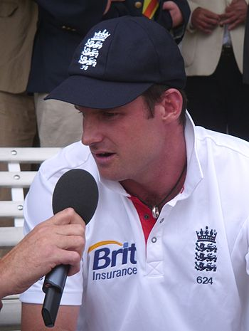 Andrew Strauss who shared lessons in leadership